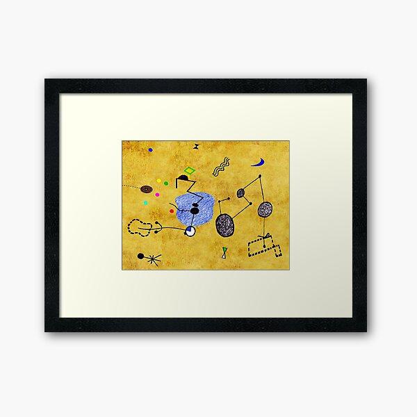 Miro Downunder III  Framed Art Print