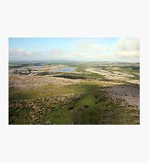 Burren view Photographic Print