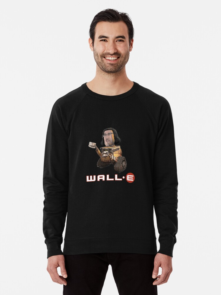 Lord Farquaad Markiplier E Meme Wall E Shirt Lightweight Sweatshirt By Tired Redbubble