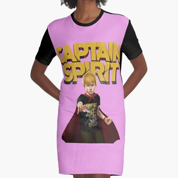 Captain  Spirit  Graphic T-Shirt Dress