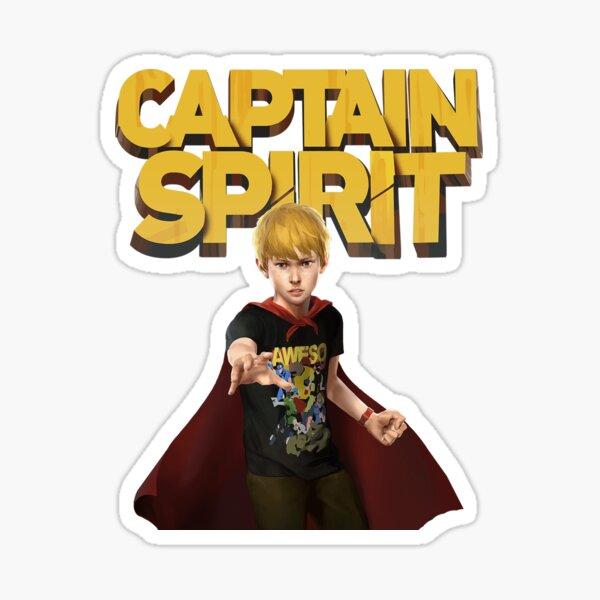 Captain  Spirit  Sticker