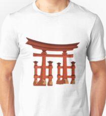 Vintage Torii Gate Unisex T-Shirt