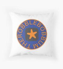 Therobblebobbum Throw Pillow
