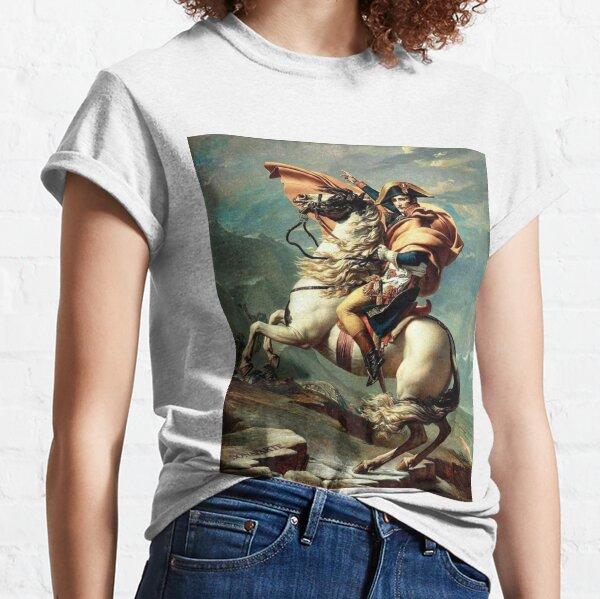 Classic Napoleon Bonaparte Peinture T-shirt classique