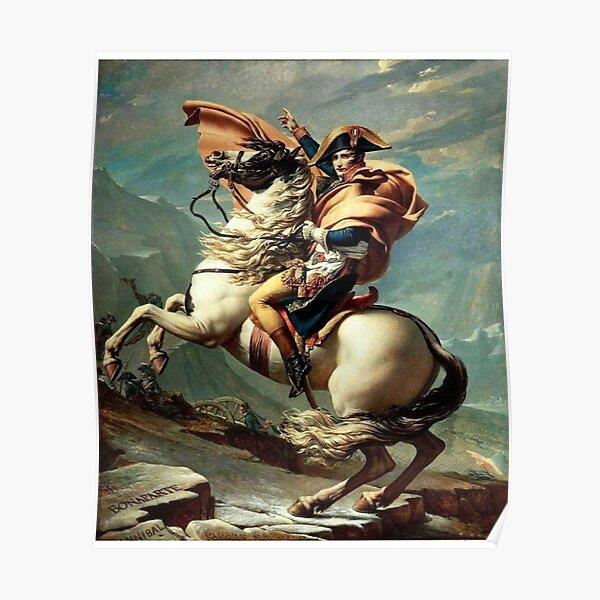 Classic Napoleon Bonaparte Peinture Poster
