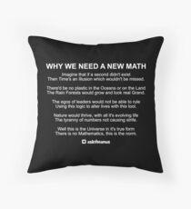 Why We Need A New Math Throw Pillow