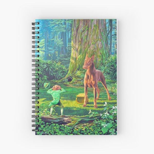 Maco's Pot of Gold Spiral Notebook