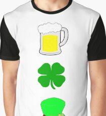 Irish Symbols Graphic T-Shirt