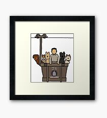 Isle of Dogs Framed Print