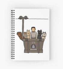 Isle of Dogs Spiral Notebook