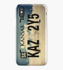 Winchester's Impala License Plate iPhone Case