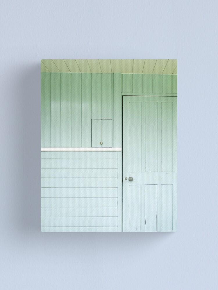 Alternate view of big door, little door Canvas Print