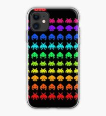 space invaders cool video game iphone case
