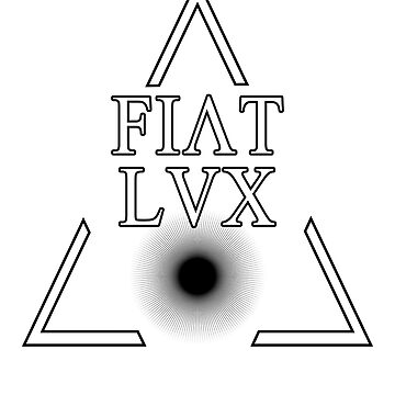 FIAT LUX-Latin Quotes Shirt - smart aleck T-Shirt - nerd T Shirt     by XLXDesign