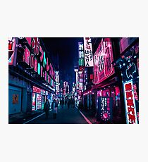 Nocturnal Alley Photographic Print