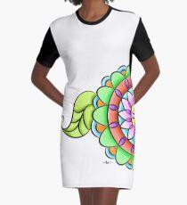 Mandala floral multicolor  Graphic T-Shirt Dress