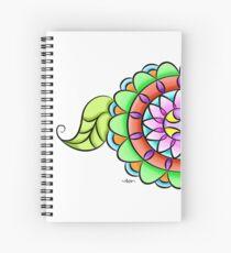 Mandala floral multicolor  Spiral Notebook