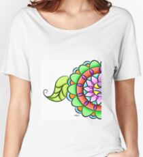 Mandala floral multicolor  Women's Relaxed Fit T-Shirt