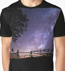 Space universe night Graphic T-Shirt