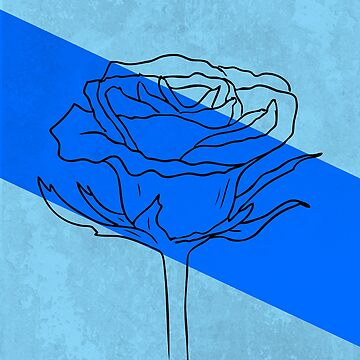 Blue Rose by GeometricStuff1