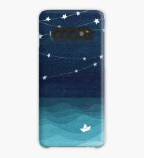 Garland of stars, teal ocean Case/Skin for Samsung Galaxy