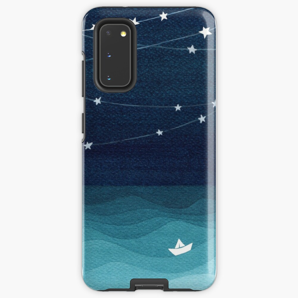 Garland of stars, teal ocean Case & Skin for Samsung Galaxy
