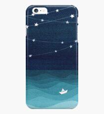 Garland of stars, teal ocean iPhone 6s Plus Case