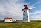 Cap d'Espoir lighthouse by PhotosByHealy