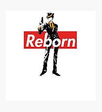 Supreme Box Logo Katekyo Hitman Reborn Reborn Photographic Print