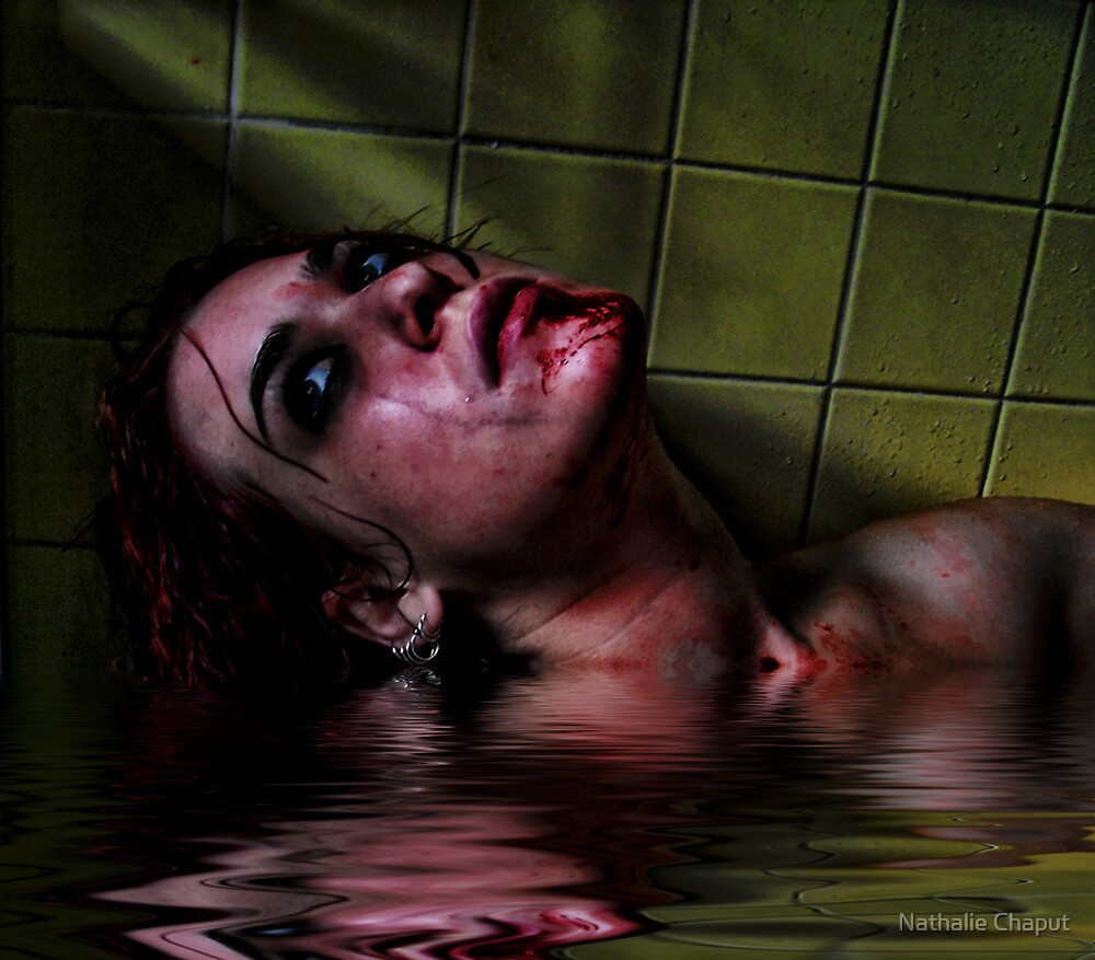 Watery grave by Nathalie Chaput