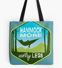 Hammock More. Worry Less. Tote Bag