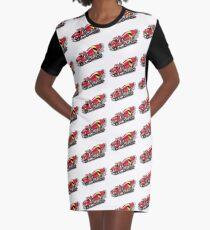 Mixer Truck Graphic T-Shirt Dress
