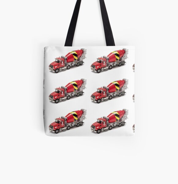 Mixer Truck All Over Print Tote Bag