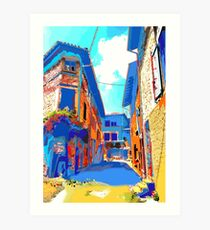 town colores Art Print