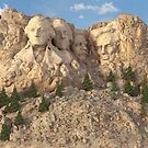 Mount Rushmore by Marc  Mons