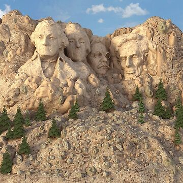 Mount Rushmore by MarcMons