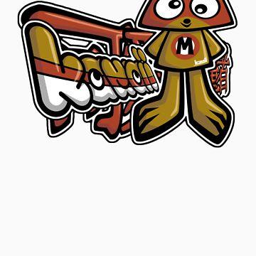 Miffed Mascot Tag by KawaiiPunk