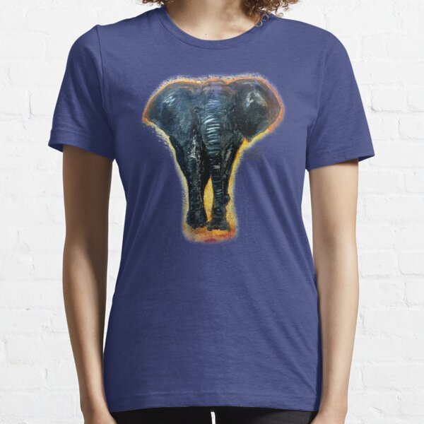 Antique Elephant Design By Rafi Perez Essential T-Shirt
