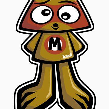 Miffed Mascot by KawaiiPunk