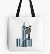 Minnesota Raccoon Building Daredevil Design Tote Bag