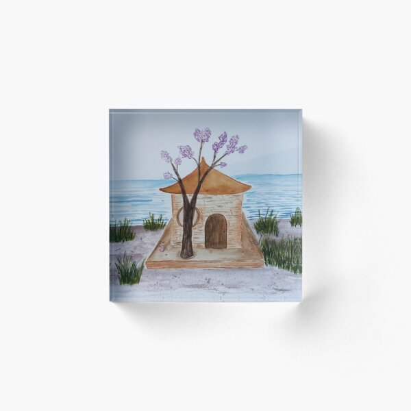 The House By The Lake Acrylic Block