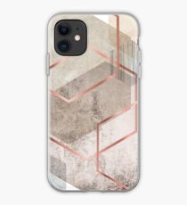 Geometrische Zusammenfassung iPhone-Hülle & Cover