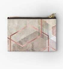 Geometric Abstract  Studio Pouch