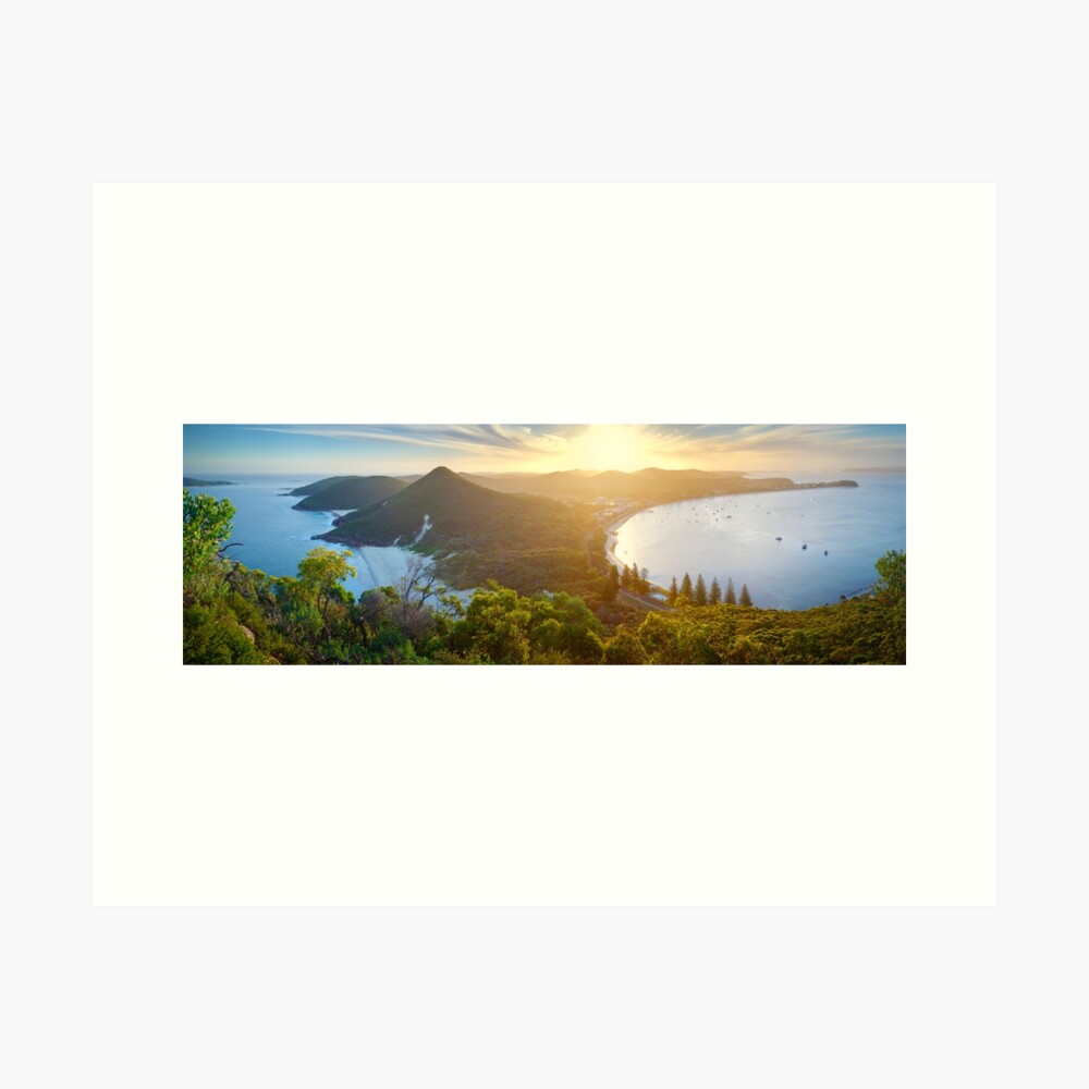 Shoal Bay, New South Wales, Australia Art Print