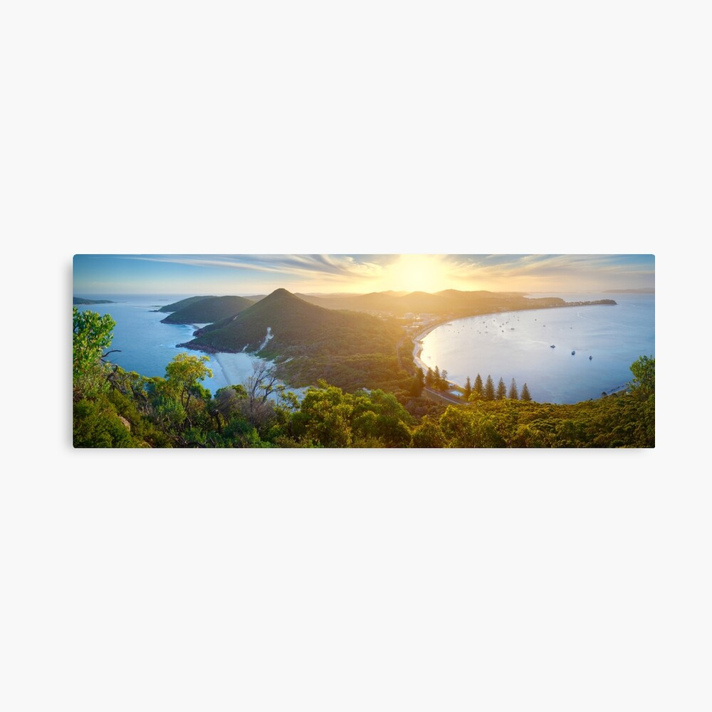 Shoal Bay, New South Wales, Australia Canvas Print