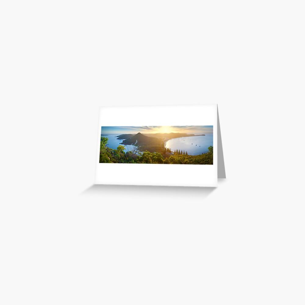 Shoal Bay, New South Wales, Australia Greeting Card