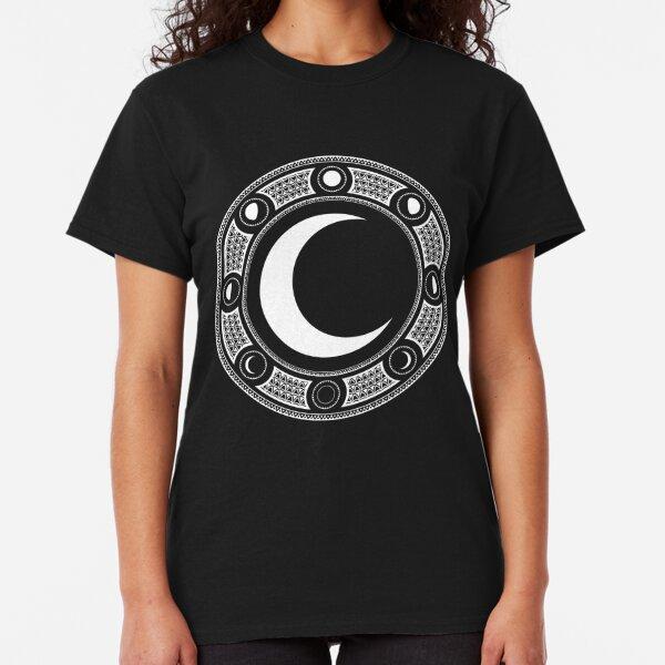 Crescent Moon Emblem Classic T-Shirt