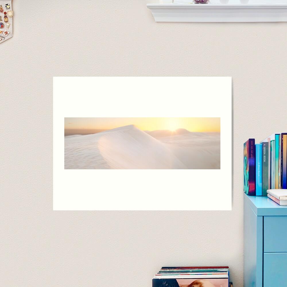 Gunyah Beach Sand Dunes, Coffin Bay, South Australia Art Print