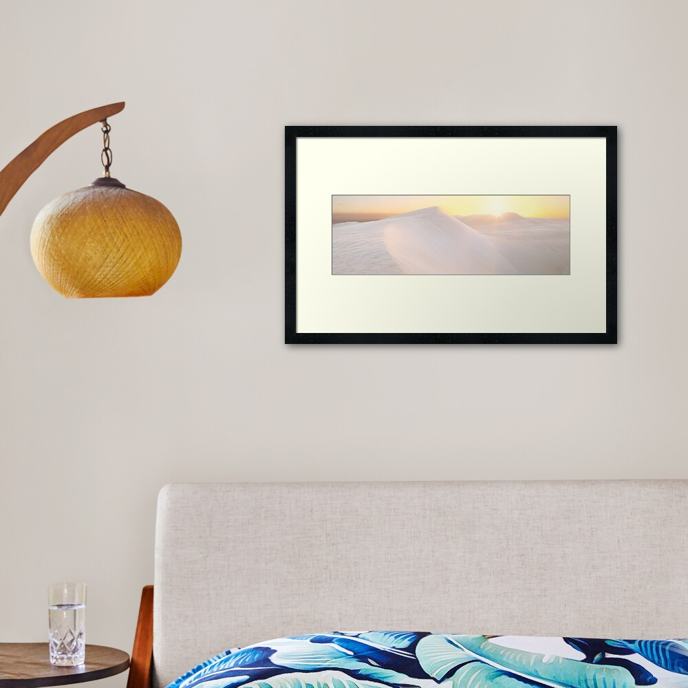 Gunyah Beach Sand Dunes, Coffin Bay, South Australia Framed Art Print