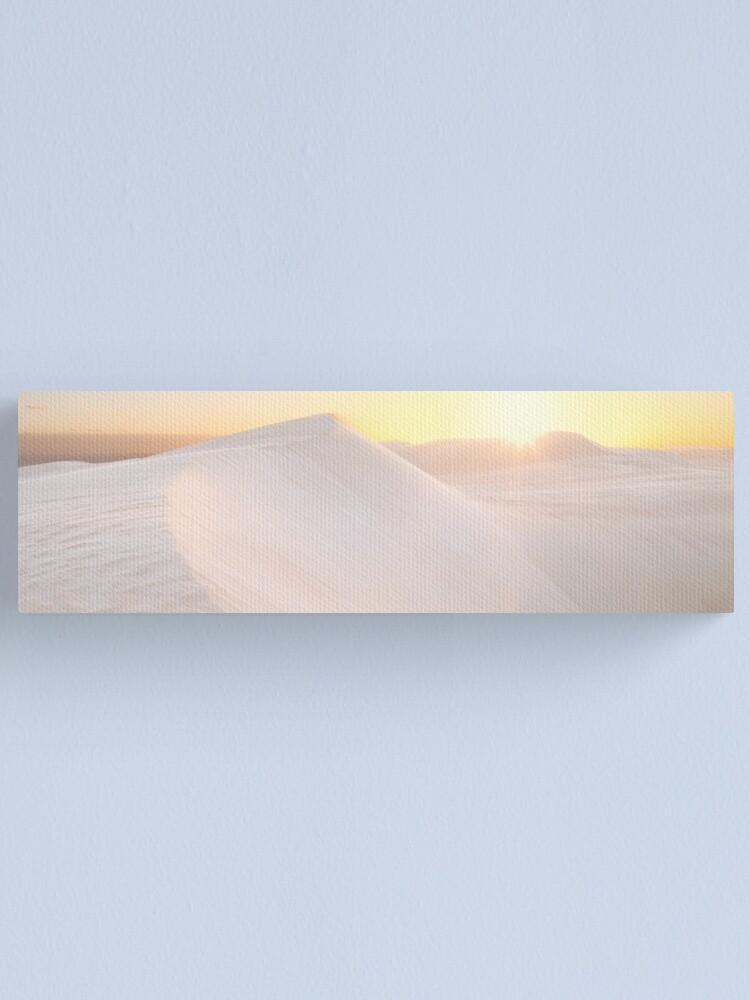 Alternate view of Gunyah Beach Sand Dunes, Coffin Bay, South Australia Canvas Print